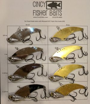 fat head blade baits