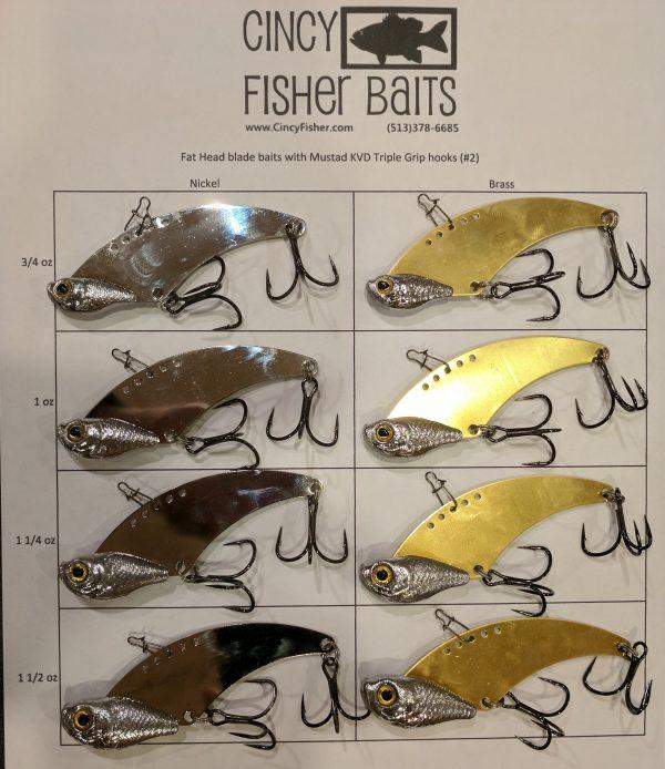 fat head blade baits